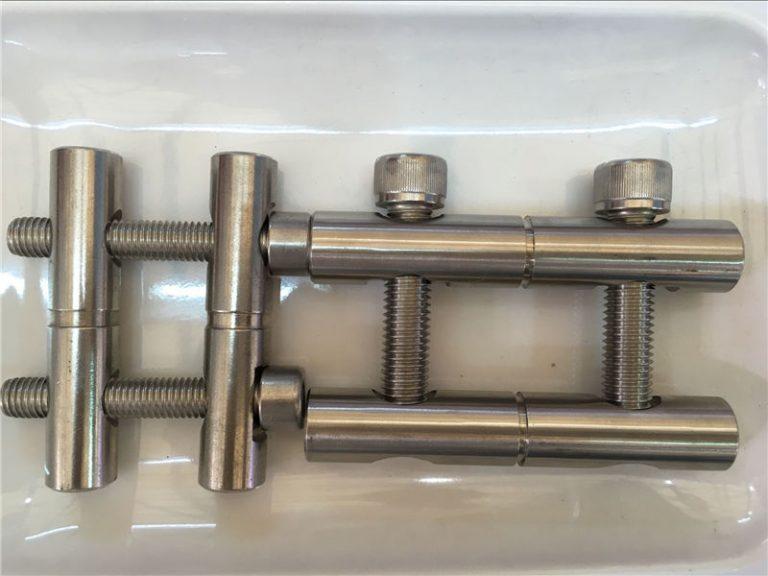 ansi 316ti / lt 1.4571, 317l / lt 1.4438 nerūdijančio plieno dalių jungiamojo strypo serijos