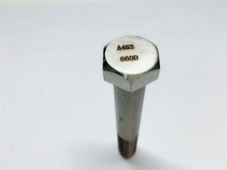 a286 aukštos kokybės tvirtinimo detalės astm a453 660 en1.4980 aparatūros mašinų varžtų tvirtinimai