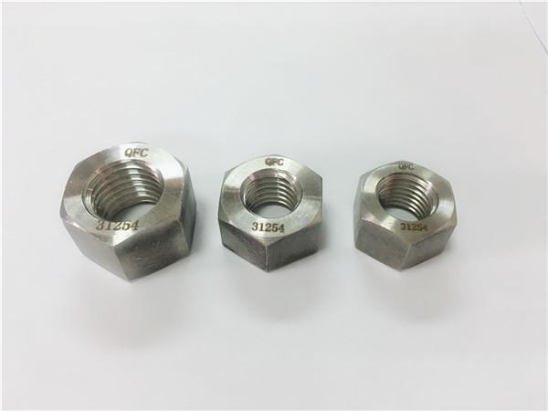 gh2132 / a286 nerūdijančio plieno tvirtinimo detalės, sunkiosios šešiabriaunės veržlės m6-m64