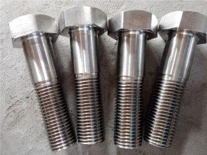 Nr.15-Nitronic 50 XM-19 šešiabriaunis varžtas DIN931 UNS S20910