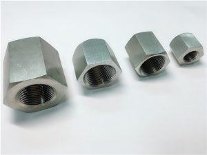 Nr.31 - Patvarus naudoti pagal apdirbimo pradinius sriegius šešiakampė nerūdijančio plieno veržlė