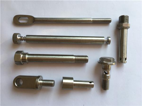 CNC tekinimo metalinės tvirtinimo detalės