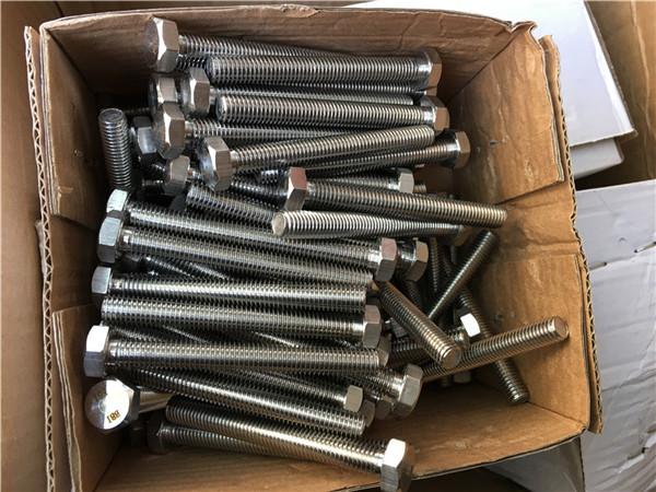 310s / 1,4845 specialios nerūdijančio plieno tvirtinimo detalės, šešiabriaunio veržlės poveržlė, m24 * 80mm