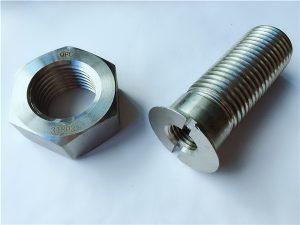 Nr.55 - Aukštos kokybės duplex 2205 nerūdijančio plieno varžtai ir veržlės