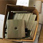 pritaikytas super duplex s32205 (f60) nerūdijančio plieno kvadratinių plokščių ploviklis / užsegimas