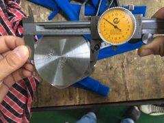 S31803 šešiabriaunio dangtelio varžto matmenų bandymas
