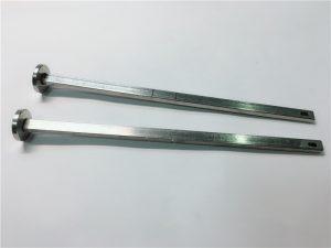 metalinės tvirtinimo detalės tiekėjas 316 nerūdijančio plieno plokščia galva kvadratiniu kaklu din603 m4 vežimėlio varžtas